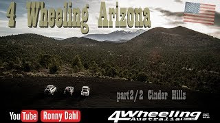 4 Wheeling Arizona USA, part 2/2 Cinder Hills
