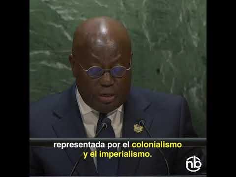 El incuestionable discurso del presidente de Ghana que todos ignoramos