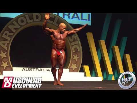 Kevin Levrone Posing Routine Arnold Classic Australia 2018