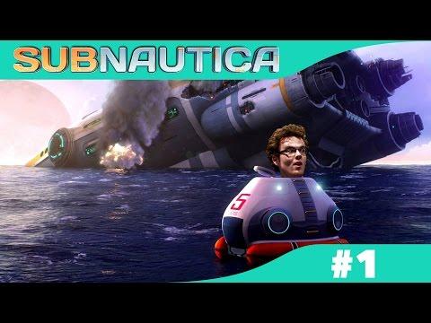 SUBNAUTICA LIVE #1 | SEASCAPE ESCAPE
