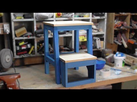 Кухонный табурет - стремянка | Kitchen Step Stool