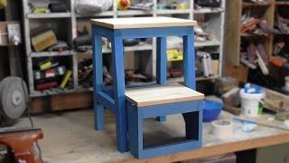Кухонный табурет - стремянка   kitchen step stool