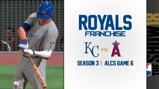 Royals Franchise @ Angels [S3] - ALCS Game 6 | MLB The Show 18