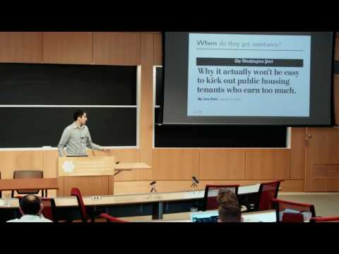 Neil Thakral: The Design of Public-Housing Policies