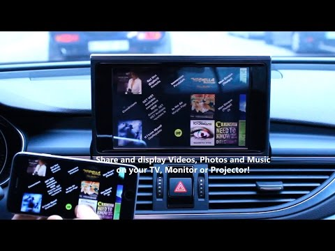 Audi A5 Hd Link Iw04a Smart Phone Android Mirroring Apc Doovi