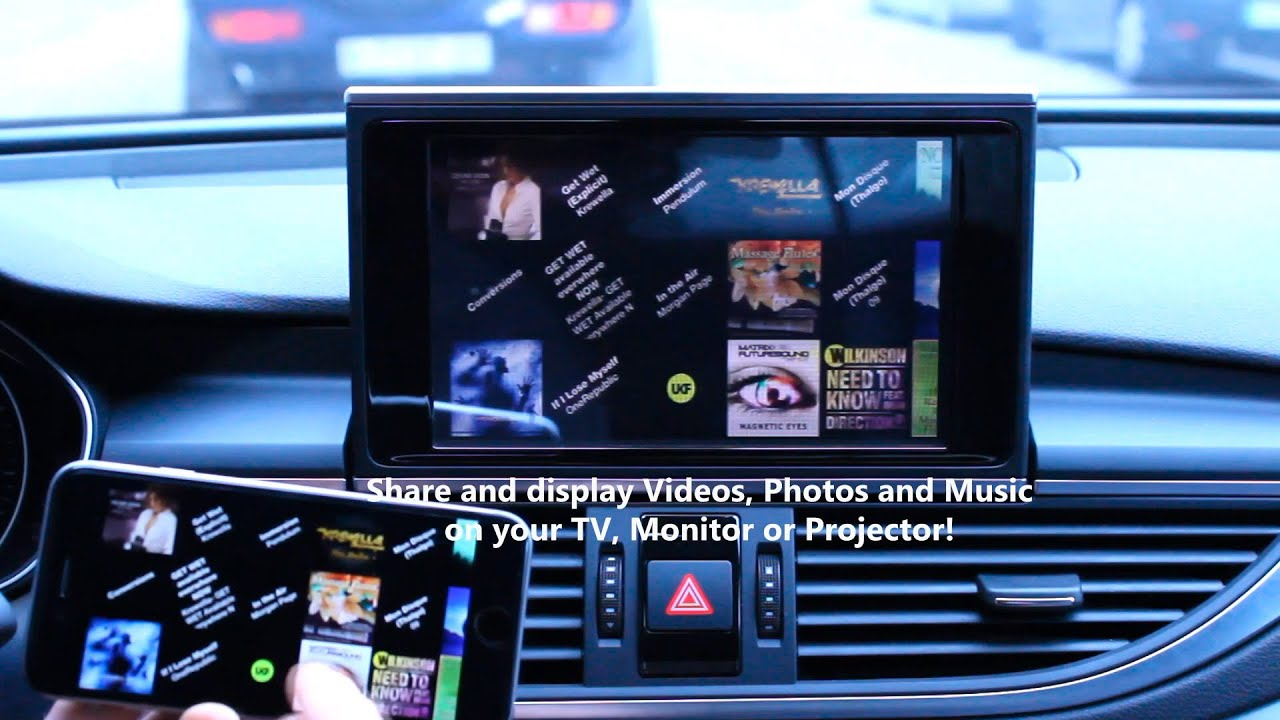 Audi A7 4g Wifi Screen Mirroring With Mmi 3g Youtube