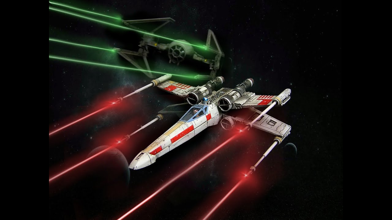 x wing star wars easy pocket revell 1 112 step by step youtube. Black Bedroom Furniture Sets. Home Design Ideas