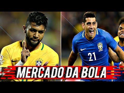 GABIGOL E DIEGO SOUZA CHEGANDO NO SÃO PAULO? - MERCADO DA BOLA #3