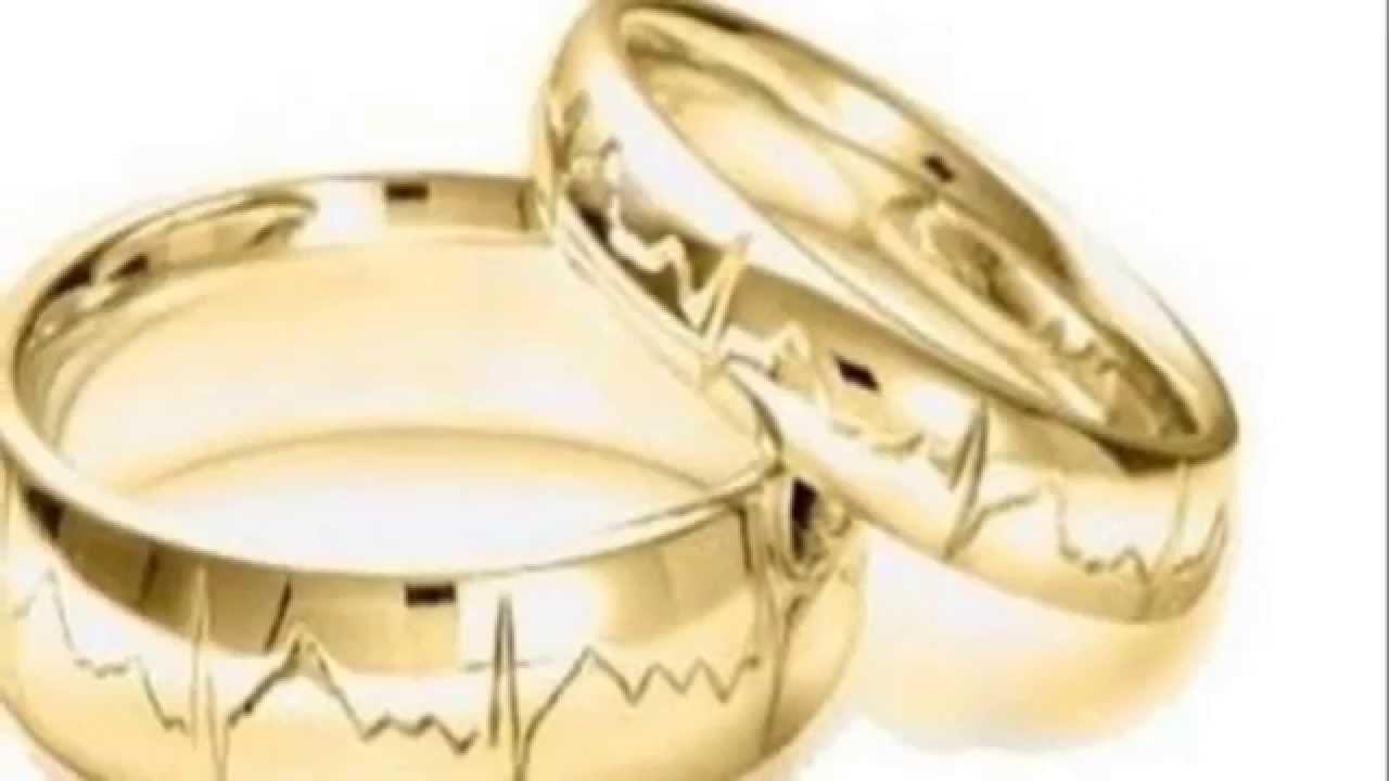 73c8e69832a9 Modelos y diseños originales alianzas de casamiento y compromiso - YouTube