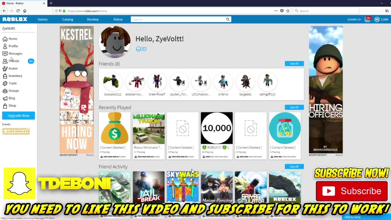 free robux hack for 2018 youtube