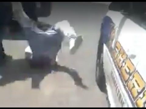 Hamilton County Sheriff's deputy throws handcuffed man to the ground