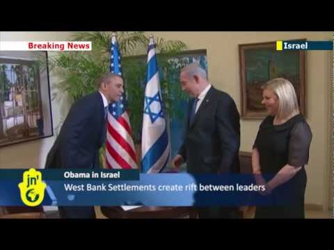 Obama in Israel: US President Barack Obama at Israeli PM Benjamin Netanyahu's residence