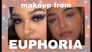 doing my makeup like euphoria for a week!! *:・゚✧