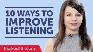 10 Ways to Improve Your Thai Listening