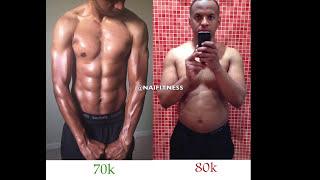 قبل و بعد في ٩٠ يوم فقط