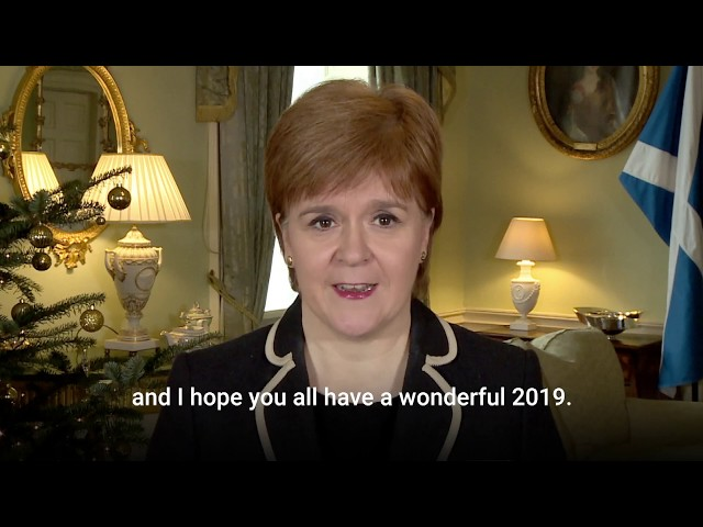 Christmas message 2018