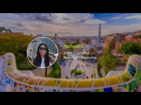 Non-Profit Intern Nathalie G.'s Barcelona Snapchat Takeover