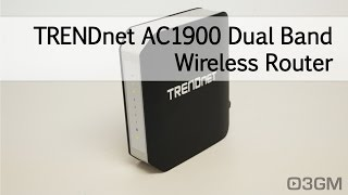 #1649 - TRENDnet TEW-818DRU AC1900 Dual Band Wireless Router Video Review