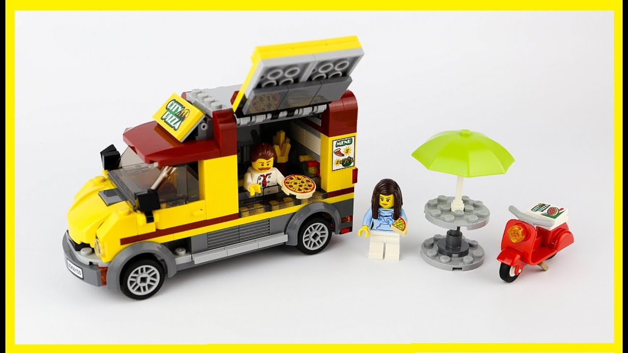 Lego City Pizza Van 60150 Speed Build