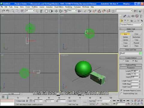 boolean / trim object in 3ds max