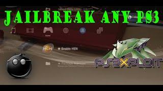 How to   JAILBREAK ANY PS3 (PS3 XPLOIT/HEN)