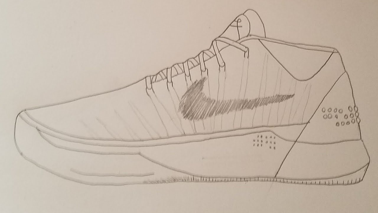 brand new fae11 db905 How To Draw The Nike Kobe AD Mid Hylerlapse