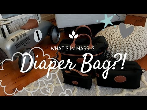 What's In My Diaper Bag?!| Longchamp