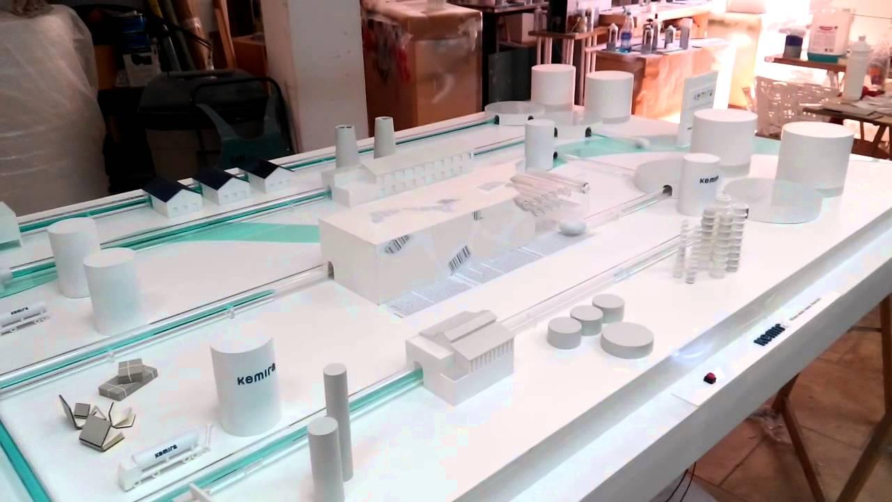 Circuito Ionizador De Agua : Video de una maqueta con circuito agua control