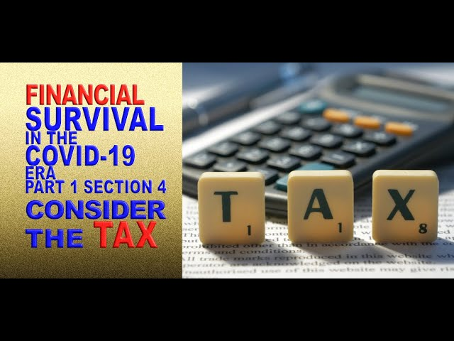 The Tax Consequences of Debt Forgiveness | Financial Survival in the COVID-19 Era (Part 1, Sec 4)