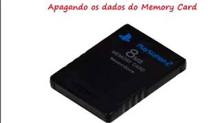 Jogando no Playstation 2 usando o pendrive e Memory Card