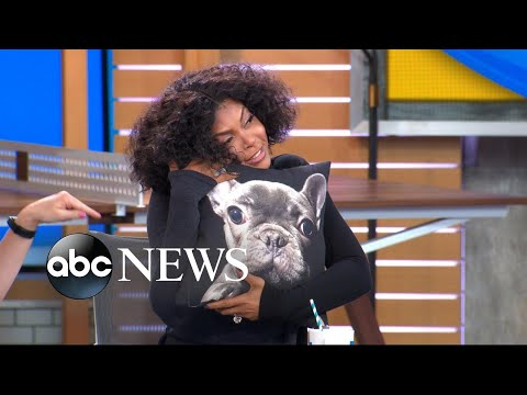 We gave Taraji P. Henson the most adorable pupinspired gift!