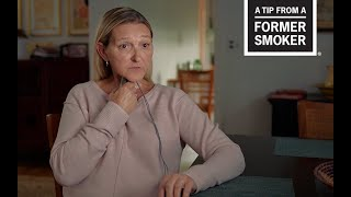 CDC: Tips From Former Smokers - Sharon's Diagnosed at 37 Story