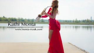 Saxophonistin Kathi Monta