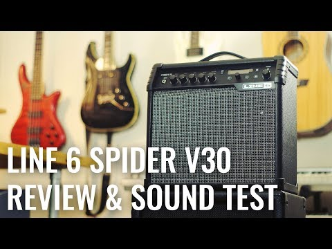 Line 6 Spider V30 Review & Sound Demo (Metal) | Infamous