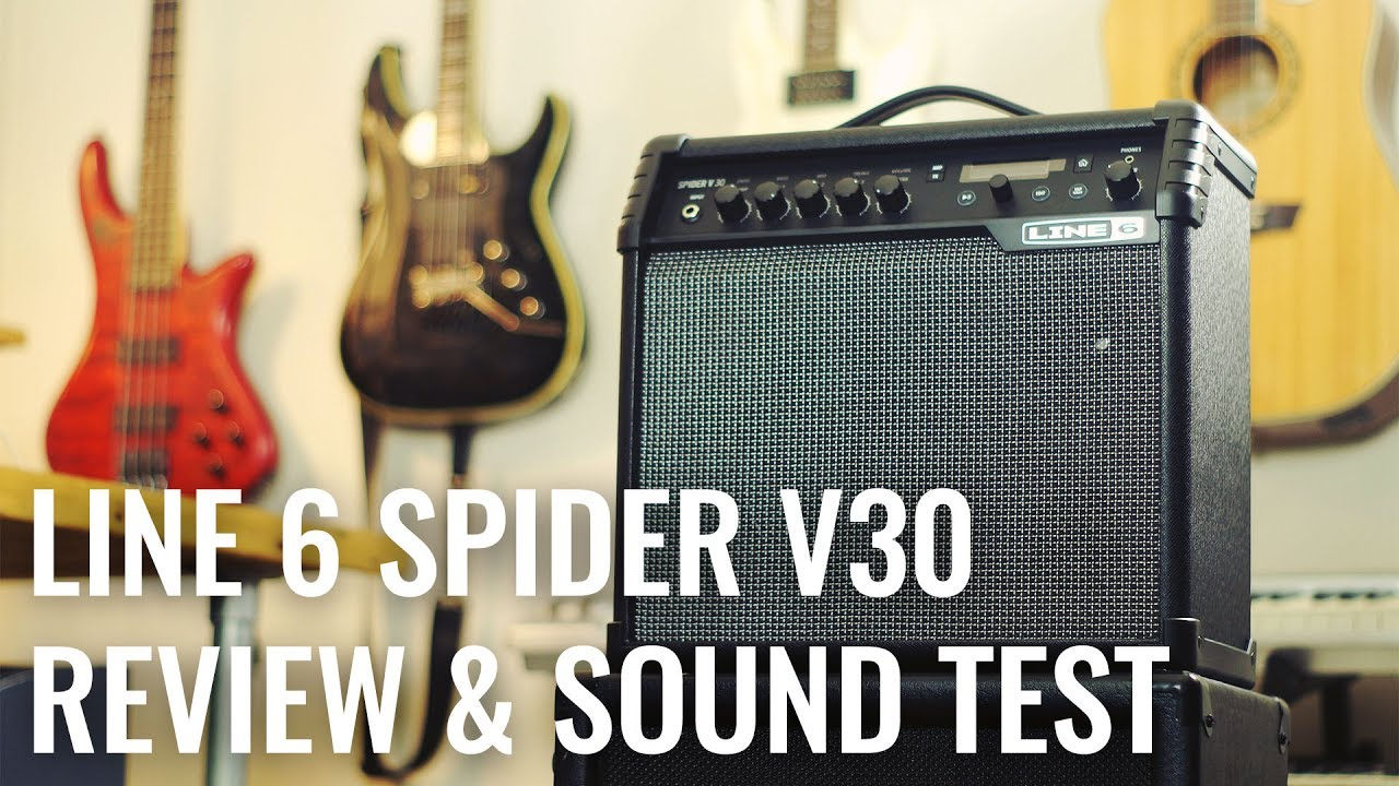 Line 6 Spider V30 Review Demo Metal