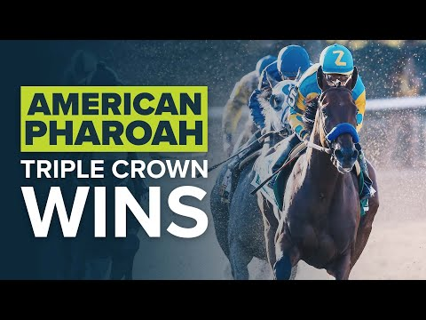 AMERICAN PHAROAH'S 2015 TRIPLE CROWN WINS: KENTUCKY DERBY