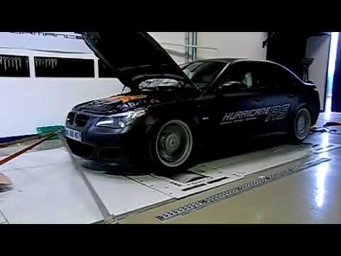 Dyno Run G Power Bmw M5 Hurricane Rs V10 Bi Kompressor Dm