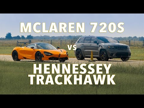 720S Vs 1,200 HP Jeep Trackhawk