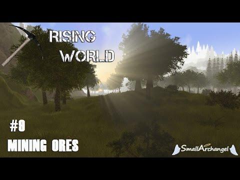 Rising World #9  Mining Ores