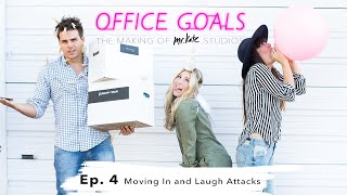 Moving In and Laugh Attacks | Office Goals | Mr Kate | Episode 4