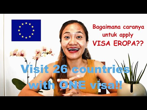 Cara Mengajukan Visa Eropa? | Perancis Jerman Belanda Italia Spanyol Swiss | Apply Schengen Visa!