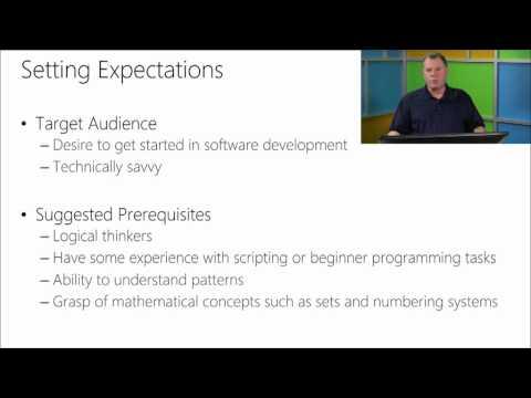Software Development Fundamentals, 01, General Software Development