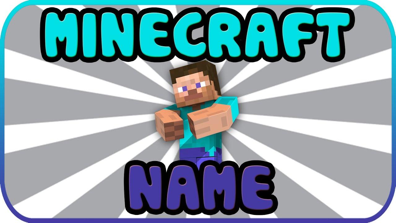 PERFEKTER MINECRAFT NAME Kurzfilm YouTube - Ich kann meinen minecraft namen nicht andern