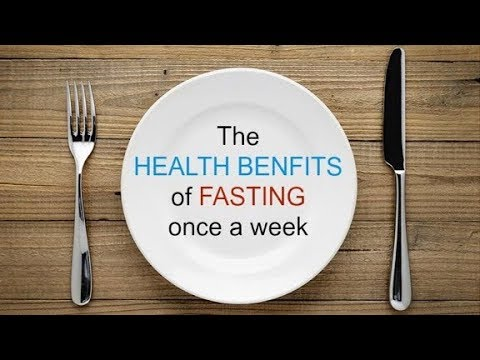 The Powerful Health Benefits Of Fasting Once A Week.