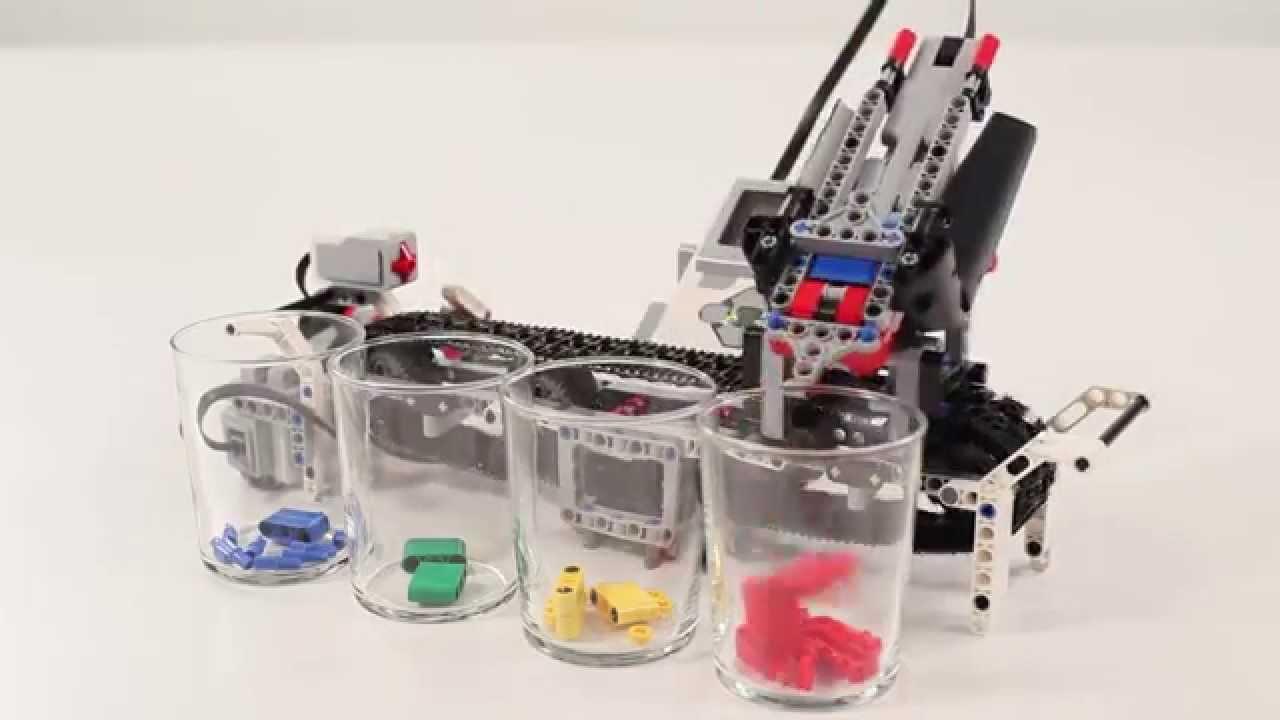 LEGO Mindstorms - Color Sorter - YouTube