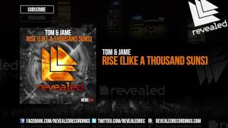 Tom Jame Rise Like A Thousand Suns OUT NOW