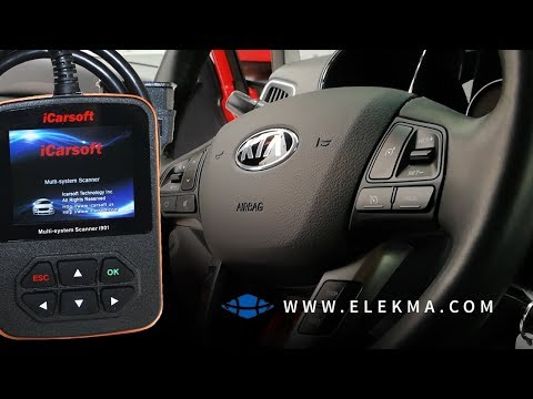 iCarSoft i901 | Kia/Hyundai | Vikakoodien Luku Kiasta