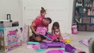 Doc Mcstuffins Baby Nursey - Building Christmas Presents