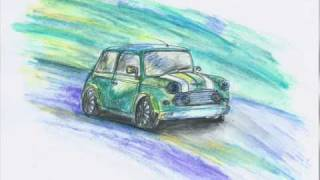 Drawing´s of cars - Czech Republic