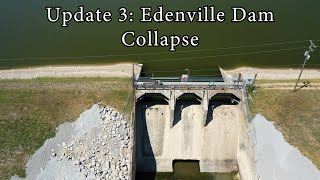 Update 3: Edenville Dam Collapse Wixom Lake Flood 2020 - Aerial